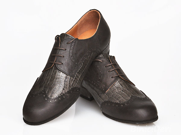 Men's tango shoe - Mink color