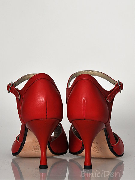 Women's tango shoe - Red 11pp