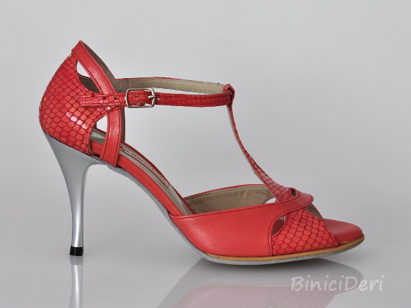 Women's tango shoe - Pomegranate Blossom