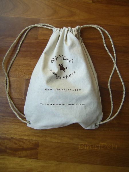 Shoe Shoulder Bag - Handmade Linen