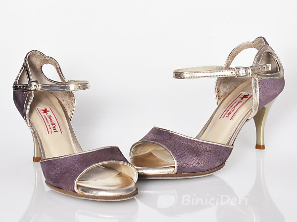 Women's tango shoe - Purple (11pp)