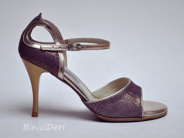 Women's tango shoe - Purple