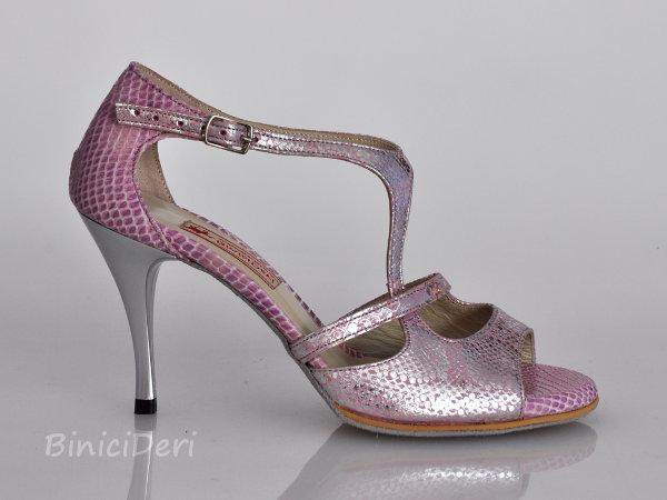Women's tango shoe - Pale purple