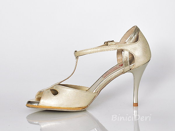 Women's tango shoe - Light Gold Jewel [NG-394AJ] - 250.00TL ...