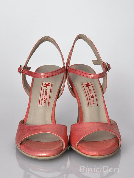 Women's tango sandal shoe - Orange Jewel