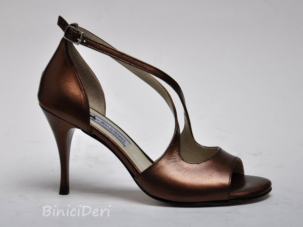 Women's tango shoe - Copper 13pp